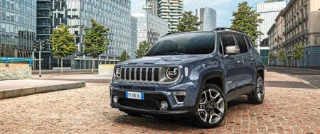 NOWY U-Connect w samochodzie Jeep Renegade 2020