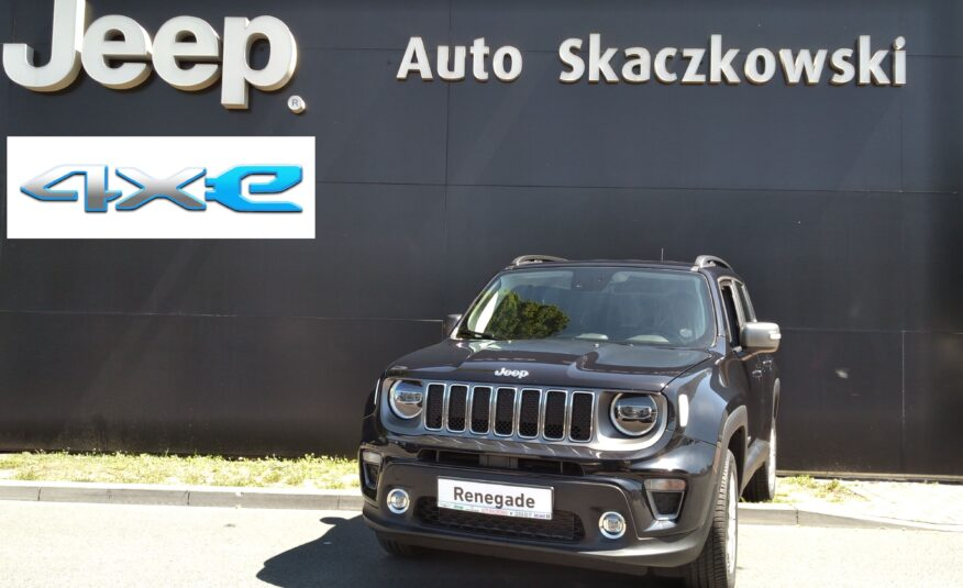 JEEP RENEGADE LIMITED PLUG-IN PHEV 1,3 6A 190KM 4X2