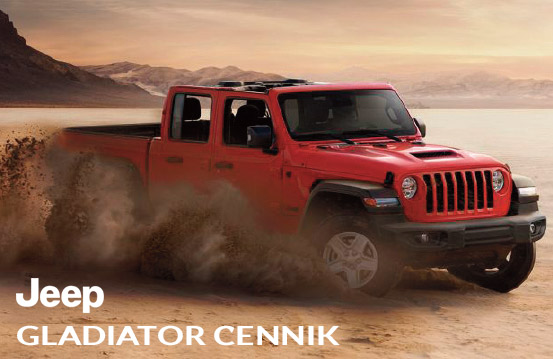 jeep gladiator cennik