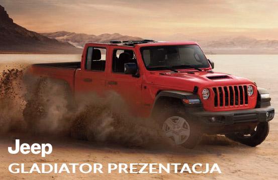 Jeep gladiator prezentacja