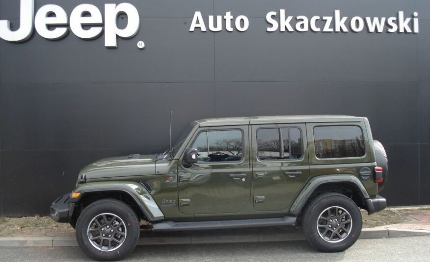 JEEP WRANGLER UNLIMITED 80TH ANNIVERSARY 2,0 272KM 9 A 4X4